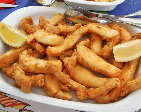 Best CuttleFish Dish: Choco Frito – Setúbal