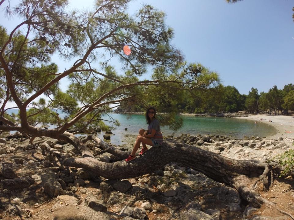 Phaselis - a melhor descoberta da viagem! - praia, ruínas e natureza, what else!