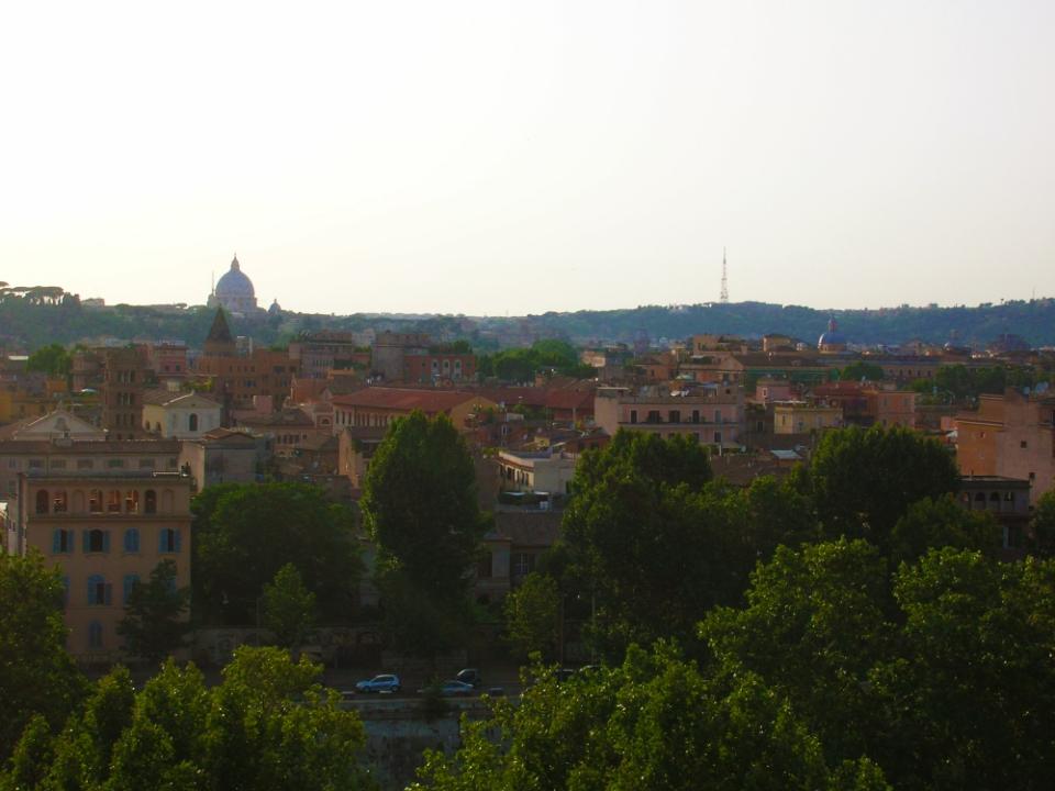 Ao lado do segredo de Roma :)