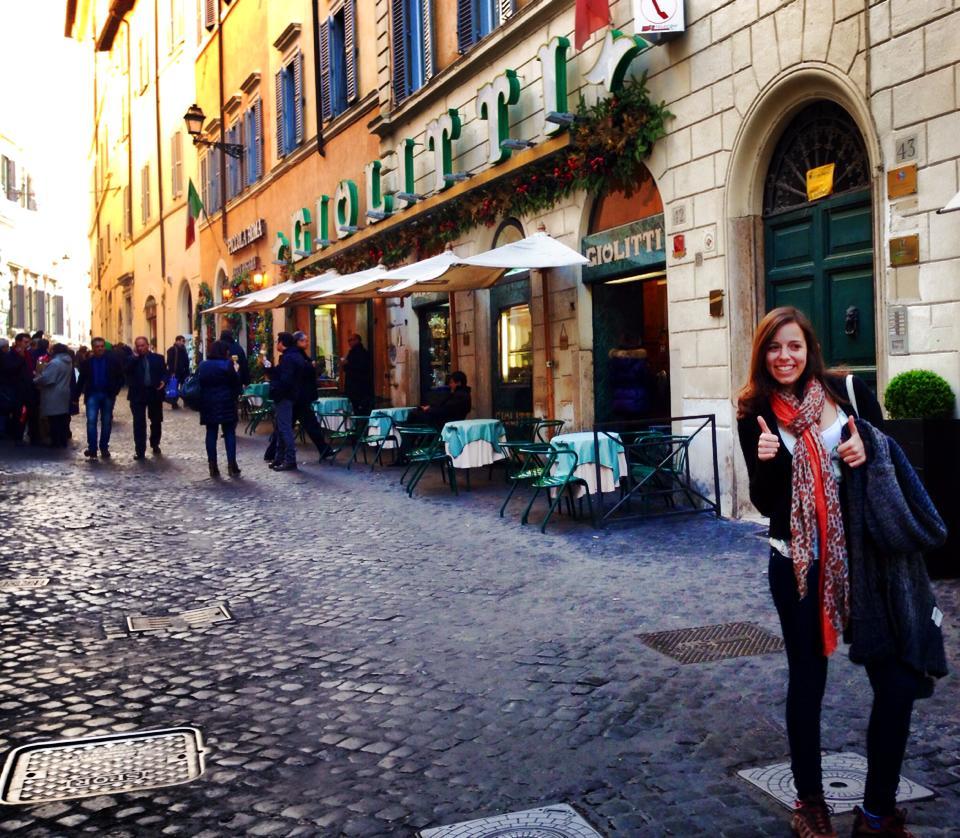 Giolitti, a melhor gelateria do mundo <3