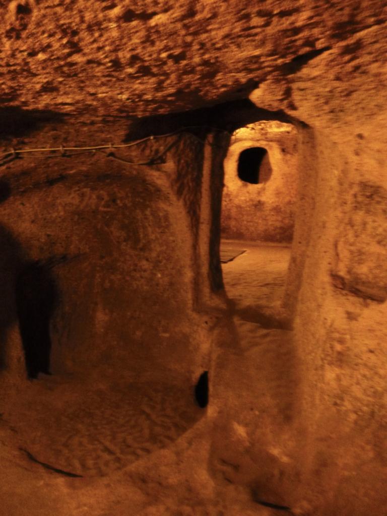 Kaymakli, a maior cidade subterrânea da Cappadocia