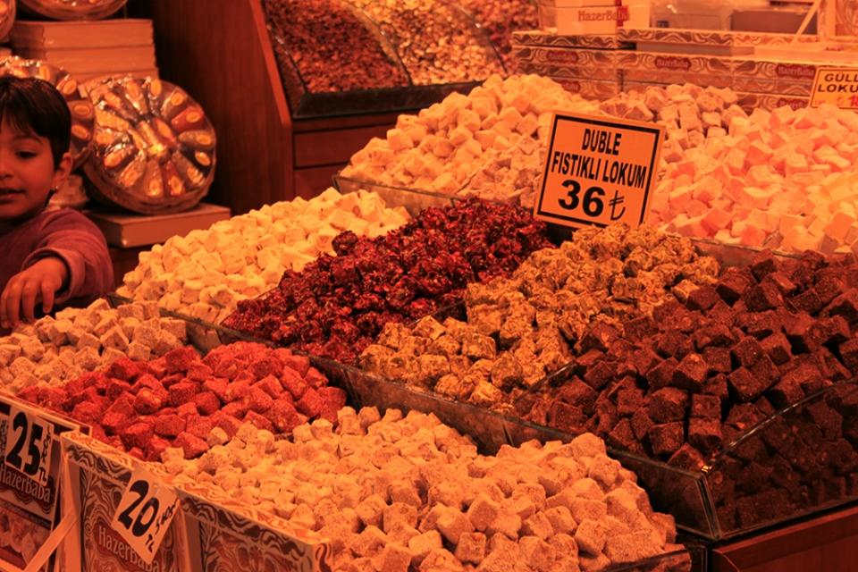 Spice Bazzar em Eminonu